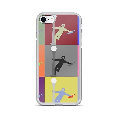 iPhone 7/8 Pure Clear Case Cases Cover Gene Kelly from Singing in The rain