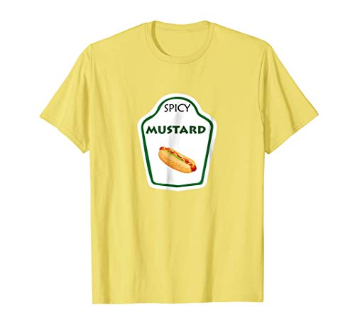 Mustard Halloween Costume Mustard Bottle Mustard -