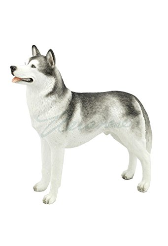 Figurine Dog Siberian Husky (Siberian Husky Puppy Dog Animal Figurine 76376)