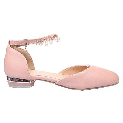 de rosa Bohemia y con para SJJH Flats primavera Casual cómodas verano estilo sandalias 7wn1wpIxZq