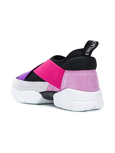 Nero Slip Poliuretano On 8rce808rx80a73 Pucci Donna Emilio Sneakers rosa O0Raqwxf