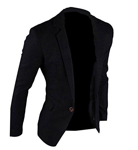 EOZY メンズ スーツ ジャケット 春秋 無地 修身 着やせ カジュアル ボーイズ 通勤 通学 長袖 ショートコート 紳士服 ゴルフ ブルゾン ビジネス