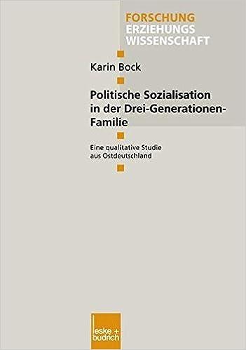 Politische Sozialisation in der Familie (German Edition)