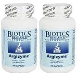 Biotics Research Argizyme 100 Capsules - 2 Bottle Saver