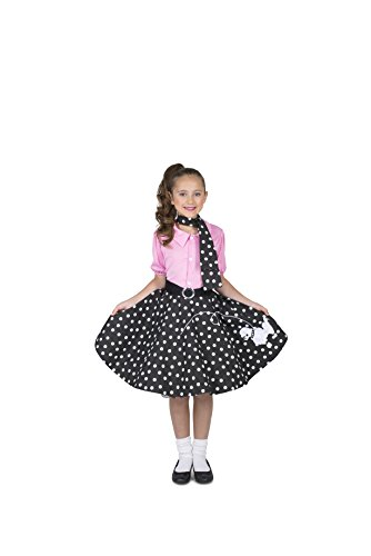 [Rock N' Roll Girl Costume Set - Costume Party, Trick or Treating - Small] (Rock N Roll Costumes For Kids)