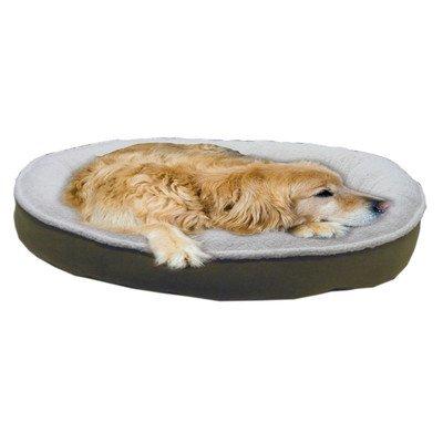 Carolina Pet Company Cloud Sherpa and Faux Suede Comfy Cup Willow 42x36x6'' by Carolina Pet