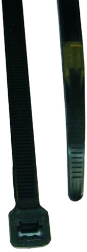 L.H. Dottie DT11B Cable Tie, Standard Duty, 11.25-Inch Length by 0.18-Inch Width by 0.052-Inch Thickness, UV Black, 100-Pack by L.H. Dottie