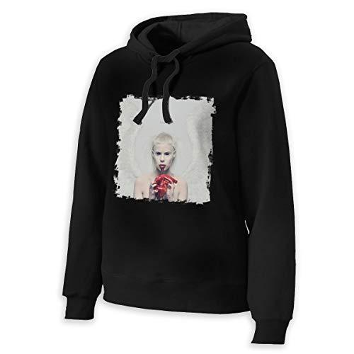 Die Antwoord Women's Long Sleeve Crew Neck Hoodies,Premium Quality Fabric Black L -