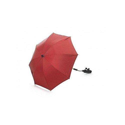 Sombrilla Roja Universal Con reverso filtro Rayos Ultravioleta flexo de Regalo!!!
