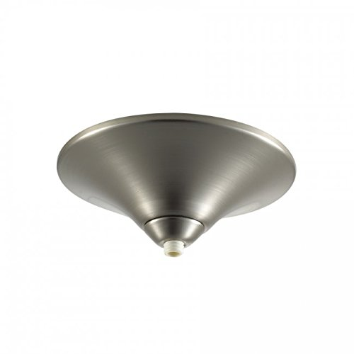 Quick Connect Pendant - WAC Lighting QMP-60ERN-BN Surface Mount Canopy Metal for Quick Connect Pendants/Fixtures, Brushed Nickel