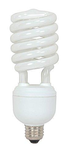 (Pack of 6) Satco S7334, 40 Watt (150 Watt) 2600 Lumens Hi-Pro Spiral CFL Soft White 2700K Medium Base 120 Volt Light Bulb, Energy Star, Compact Fluorescent Bulb