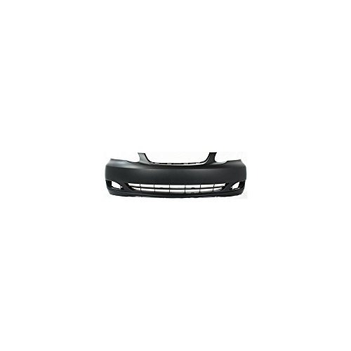 2006 Front Bumper Cover (New Evan-Fischer EVA17872050617 Front BUMPER COVER Primed for 2005-2008 Toyota Corolla)