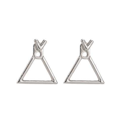 (Fashion Stud Earring Women Lightweight Geometric Casual Earring Harm Free Accessory)