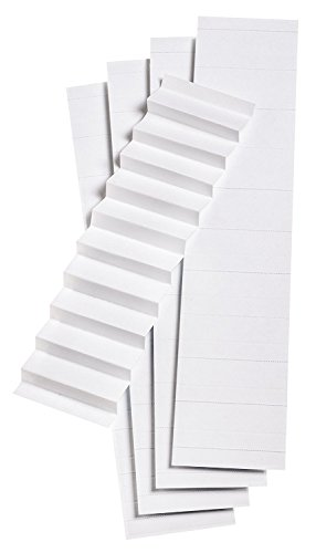 (Pendaflex Blank Inserts for 1/5 Cut Hanging File Folders, 2 in, White, 100/Pack (242) (3 Pack))