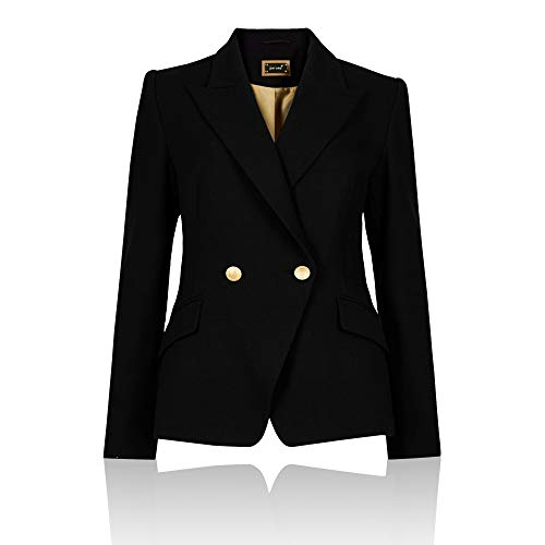 Outlet Nero Blazer London The Manica Donna Giacca Lunga d1U440x