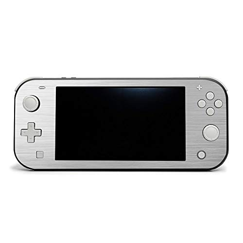 MIGHTY SKINS MightySkins Skin Compatible with Nintendo Switch Lite - Cold Steel | Protective, Durable, and Unique Vinyl Decal Wrap Cover | Easy to Apply, Remove, and Change Styles | Made in The USA