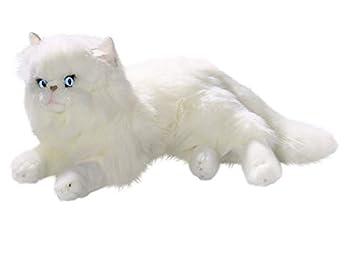 Carl Dick Peluche - Gato persa blanco (felpa, 35cm) 2278