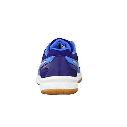Asics Pre-upcourt - Zapatillas de Bádminton Unisex niños Diva Blue/Lightning/Navy