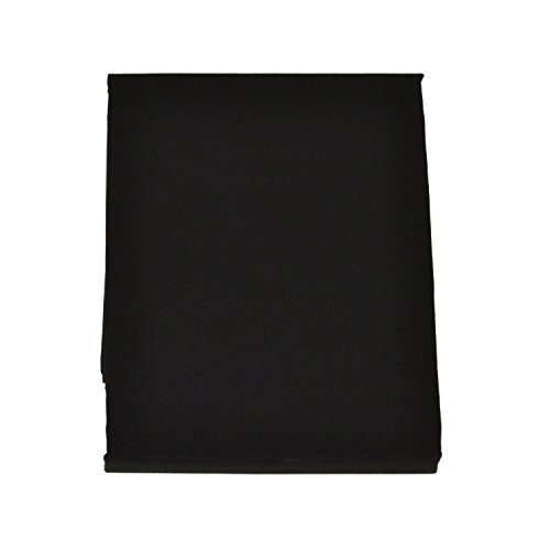 FULI 100% Cotton Cover for Traditional Japanese Floor Futon Mattress, Full XL, Black. Made in Japan