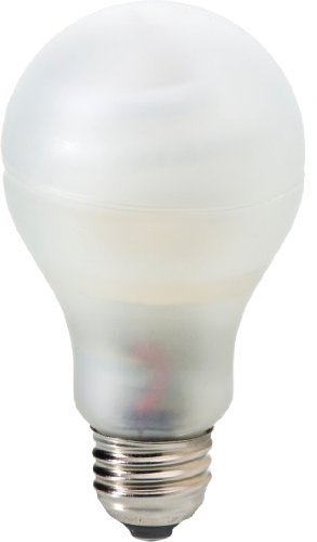 GE Lighting 87419 Reveal Bright From The Start CFL 25-watt 1375-Lumen A23 Light Bulb with Medium Base, by GE Lighting (A23 Base Medium)