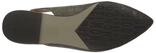 Belmondo 703343 - Sandalias de punta cerrada, Mujer Beige (taupe)