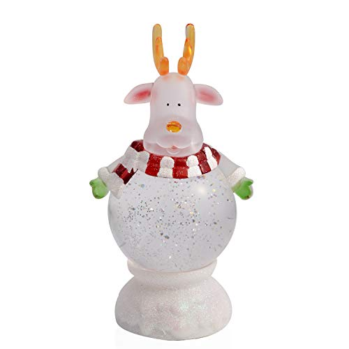 - Shop LC Delivering Joy Reindeer Decor Christmas Theme with LED Light 9x4 3xAA Batteries Not Included