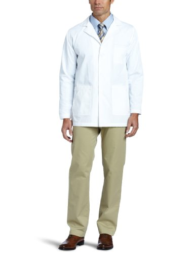 Carhartt Men's 5 Pocket Poplin Lab Coat, White, X-Large