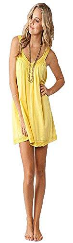 O'Neill Juniors Firefly Dress, Banana Yellow, Size
