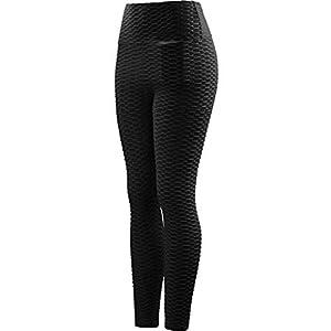 Leggings Donna Pantaloni da Corsa Fitness Sportivi Yoga Allenamento Dimagranti Tasca Tasche Comodi Elastici in Vita… 3 spesavip