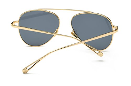 JC Fansion Cat-eye Anti-reflective UV400 round Driving Classic Sunglasses for Men and - Near Mens Me Sunglasses