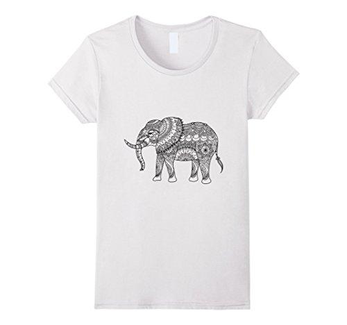 womens-elephant-color-your-own-colorific-tees-design-medium-white