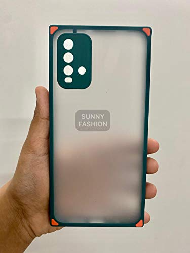 Sunny Fashion Square Smoke Back Cover for Xiaomi Redmi 9 Power TPU Silicone Frame Matt Translucent Back Case for Xiaomi… 2021 August Compatible For Xiaomi Redmi 9 Power The matte surface of phone cover provides you a silky hand feeling like holding baby skin. Offering you a very pleasant feel. The special bottom matt of Smoke case does better in releasing heat. When phone gets warm in hand because of using it for long time, it will release and reduce the phone heat better.