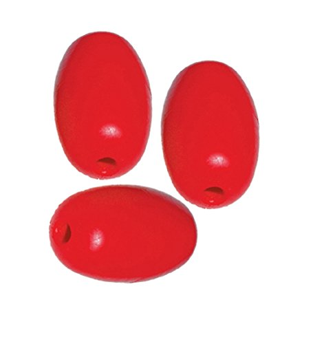 (Orange Cycle Parts Red Floats for Pools, Water Ski Ropes, Anchor Lines, Marker Buoys, Crab Traps, Boats and More 3 Pack by Kwik-Tek F-5R)