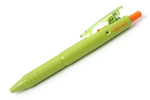 Pilot Down Force Ballpoint Pen - 0.7 mm - Moss Green Body - Black Ink