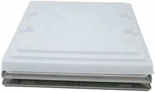 MPK 42 Dachluke Dachfenster Dachhaube 40 x 40 cm Wohnwagen Wohnmobil Caravan grau