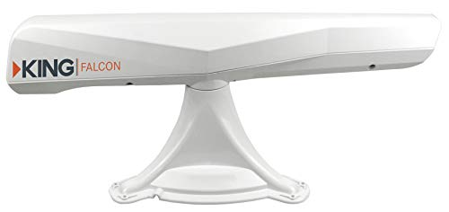 KING KF1000 Falcon Automatic Directional WiFi Antenna with WiFiMax Router and Range Extender - White by KING (Image #2)