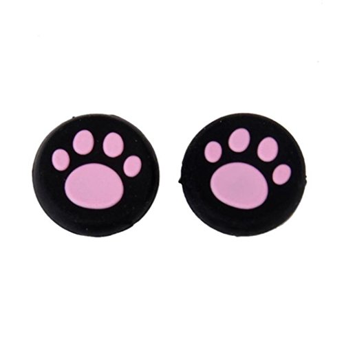 (Sinfu 1 Pairs Paw Silicone Skin Case Protective Gel Thumb Grips Caps For Nintendo Switch Controller (C))