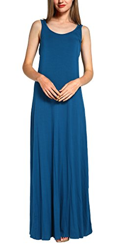 Urban CoCo Women's Casual Sleeveless Tank Top Maxi Beach Long Dress