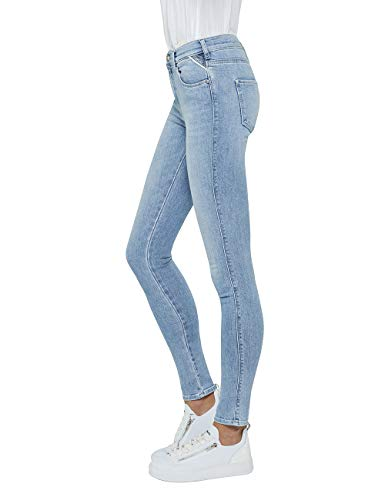 Vaqueros Azul Para Stella Blue 10 light Skinny Mujer Replay 5nXfwx5Z