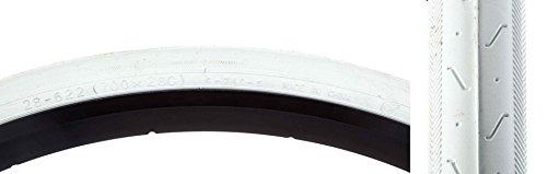 28 White Clincher Tire - CST C740 Tire - 700 x 28, White/White