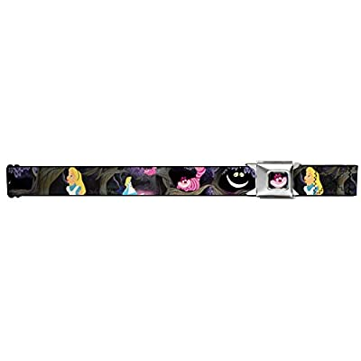 Walt Disney Movies TV Shows Alice In Wonderland Seatbelt Belt