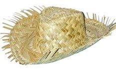 Men's Straw Beachcomber Hat -