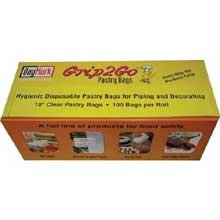 ACR by Daymark Grip2Go Pastry Bag, 18 inch -- 100 per case.