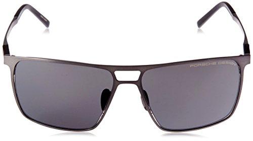 d89a0bc5704 Porsche Design Sonnenbrille (P8610 B 59)  Amazon.co.uk  Clothing