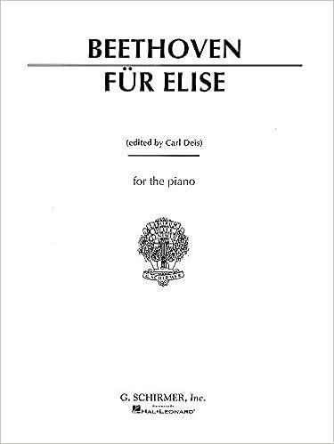 Ludwig Van Beethoven: Fur Elise  Sheet Music for Piano Solo