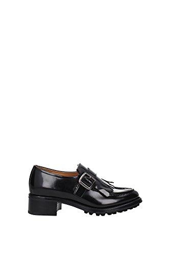 Noir Chaussures À Eu Church's Lacets Femme dd0005black qwSzvSgTY