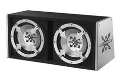 Ported 500w Sub Box with Amplifier ()