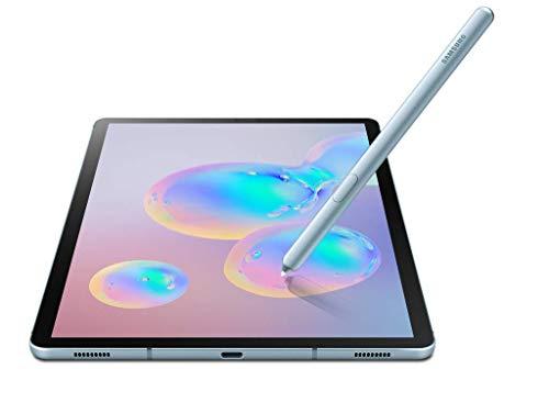 Samsung Galaxy Tab S6 SM-T865 LTE Factory Unlocked 10.5″ International Version (No Warranty in The USA) (8GB RAM / 256GB ROM, Cloud Blue)