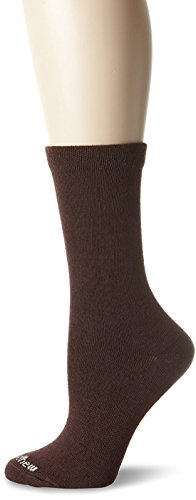Sockwell Skinny Minnie Sock, Size: M/L - Espresso with a Helicase Sock Ring