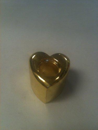Brass-Plated-Heart-Stylish-Cigarette-Snuffer